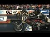 Amazing Top Fuel Drag Bike Crash