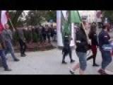 Anti-immigrant March In Bydgoszcz Poland