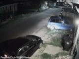 Armed Carjacking Caught On Tape