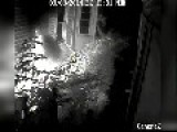Arsonist Caught On Cam
