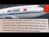 Air China Warns London Bound Travelers