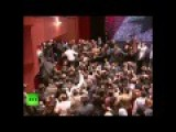 Assad Mobbed By Exultant Supporters After Rare Speech