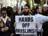 Anjem Choudary And Other Islamic Extremists Take To The Streets Of London Again