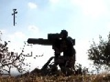 A Syrian Sunni Arab Citizen Tank Hunter Engages A Moving Assad Regime BMP, 2c3b With A BGM-71 ATGM: Morek Oct 13th,