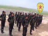 A Gang Of Kurdish YPG Female Terrorists Are Ready To Commence Operations: Kobani