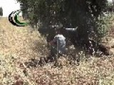 An FSA Fighter Has A Go With An HJ-8 ATGM: Meng Airbase, Aleppo