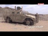 Another Humvee Abandoned And Destroyed In Yemen