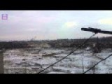 Artillery Battle Near Donetsk