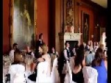 Angry Waiters Smash Cake In Wedding Prank