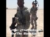 American Soldiers Dancing In Desert