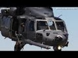 AWESOME PILOTS, JETS, HELICOPTERS - HH-60 Pave Hawk, Rockwell B-1 Lancer And C130