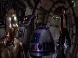 A Scene From Star Wars Episode IV 1977 Escape From The Death Star