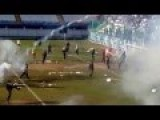 AEK Athens Ultras Fight Egaleo F.C Fans Before Match