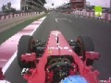 Alonso S Lap Of Barcelona