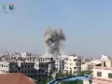 Air Strike Hits Maliha Suburbs