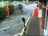 Almost Died Because Of The Crash Barrier