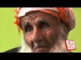 A Kurdish Man Who Are 110 Years Old With His Grandchild