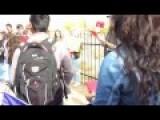 Albuquerque High School Students Protest President-elect Trump