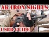 AK Iron Sights - User Guide To AK 47 AKM Sights