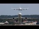 Airbus A380 Air Show At Farnborough Air Show