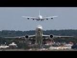 Airbus A380 Air Show At Farnborough Air Show