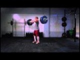 A Perfect Clean And Jerk In Slow Motion