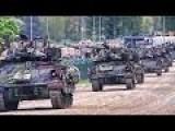 American Armored Vehicles Joyride Through Germany