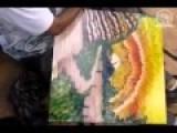Amazing Hand Painting !!