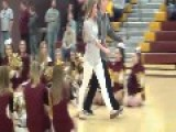 A High School Kid Whips Out A Fake Dick At A Pep Rally