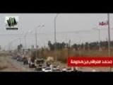 Asa'ib Ahl Al-Haq Huge Convoy Heading To Samrraa