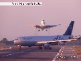 Aviation 767-300 NEAR MISS GO AROUND At Barcelona-El Prat