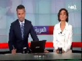 Al Arabiya TV Weather Reporter Falls