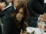 Argentina's President Fernandez Demands Falklands Talks