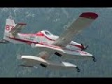 Air Tractor AT-802 Fire Boss Air Tankers In Action