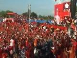 Aung San Suu Kyi Holds Massive Election Rally In Yangon