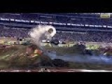 Attempted Double Backflip By A Monster Truck