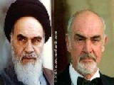 Ayatollah Khomeini Of Iran Was Sean Connery Hidden Persian Shia Heretic Western Alliance Exposed!