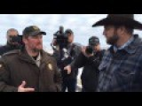Ammon Bundy And Sheriff Dave Ward Meet Face To Face