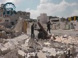 Aleppo Firing The Hell Cannon + 120mm Mortar