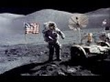 APOLLO 17: Something Just Exploded - Debris Flying Over Astronauts Head
