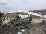 A Quick Stroll Around The Wreckage Of Three Assad Regime Mi-8 Helicopters Feb 28th, '14