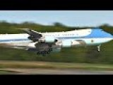 Air Force One 747 - World's Most 'Powerful' Aircraft Landing In Alaska