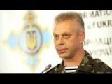 Andriy Lysenko Ukraine ATO Media Center, 28th Of November 2014 English Translation