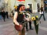 Amazing One-Man-Band Street Performer