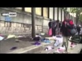 African Refugees Turning Paris Into A Dump