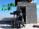 A Syrian Sunni Arab Citizen Soldier Gets A Hit On Assad Regime Field Gun With A TOW ATGM: Tell Arad Nov