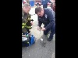 Ann Arbor Fire Department Saving A Baby Squirrel