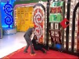 Ankle Injury On The Price Is Right