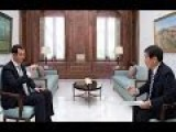 Assad Informs Japan, The Truth About Syria 1-19-17 Rare Interview In English