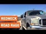 Angry Redneck Road Rage | This Is My Driveway